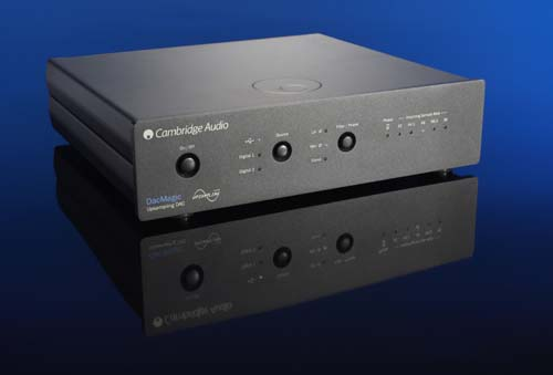 Cambridge Audio's Dac Magic makes music-magic